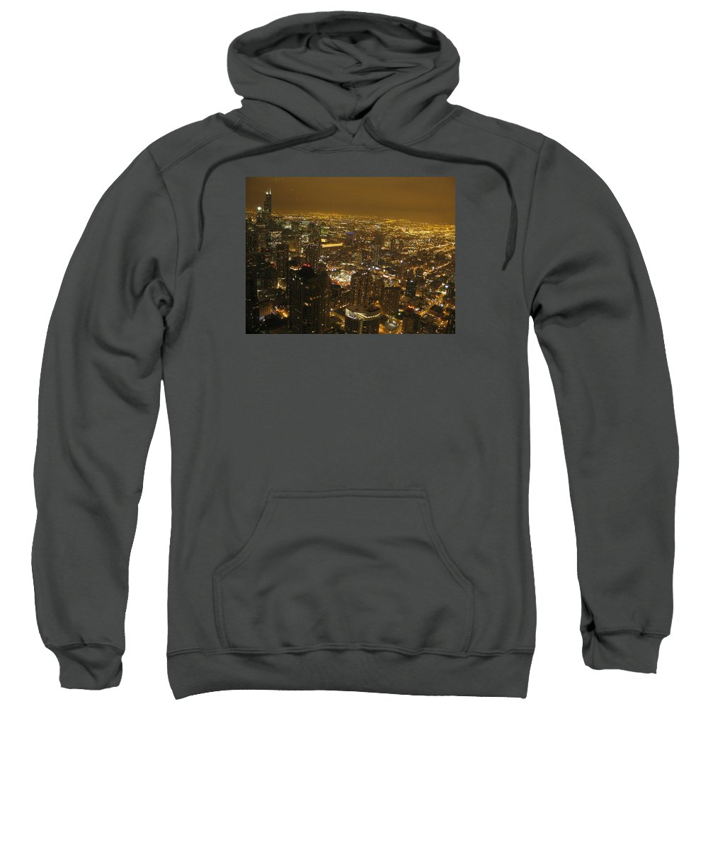 Photograph Sweatshirt featuring the photograph Night And Light 1 by Ayse Belgin Bal