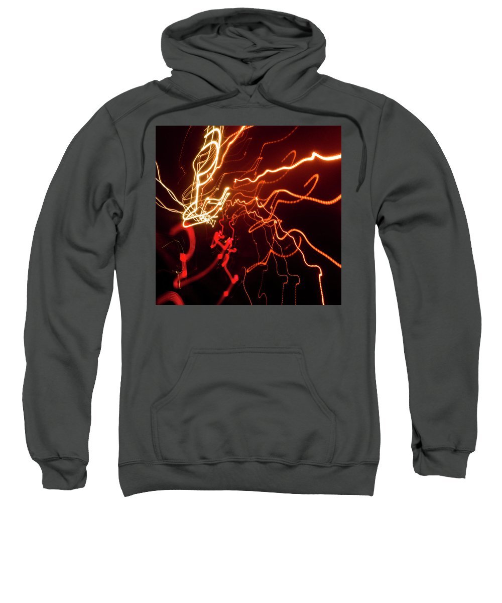 Photography Sweatshirt featuring the photograph Night Moves by Steven Natanson