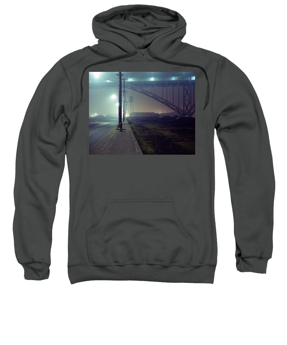 Night Photo Sweatshirt featuring the photograph Nightscape 2 by Lee Santa