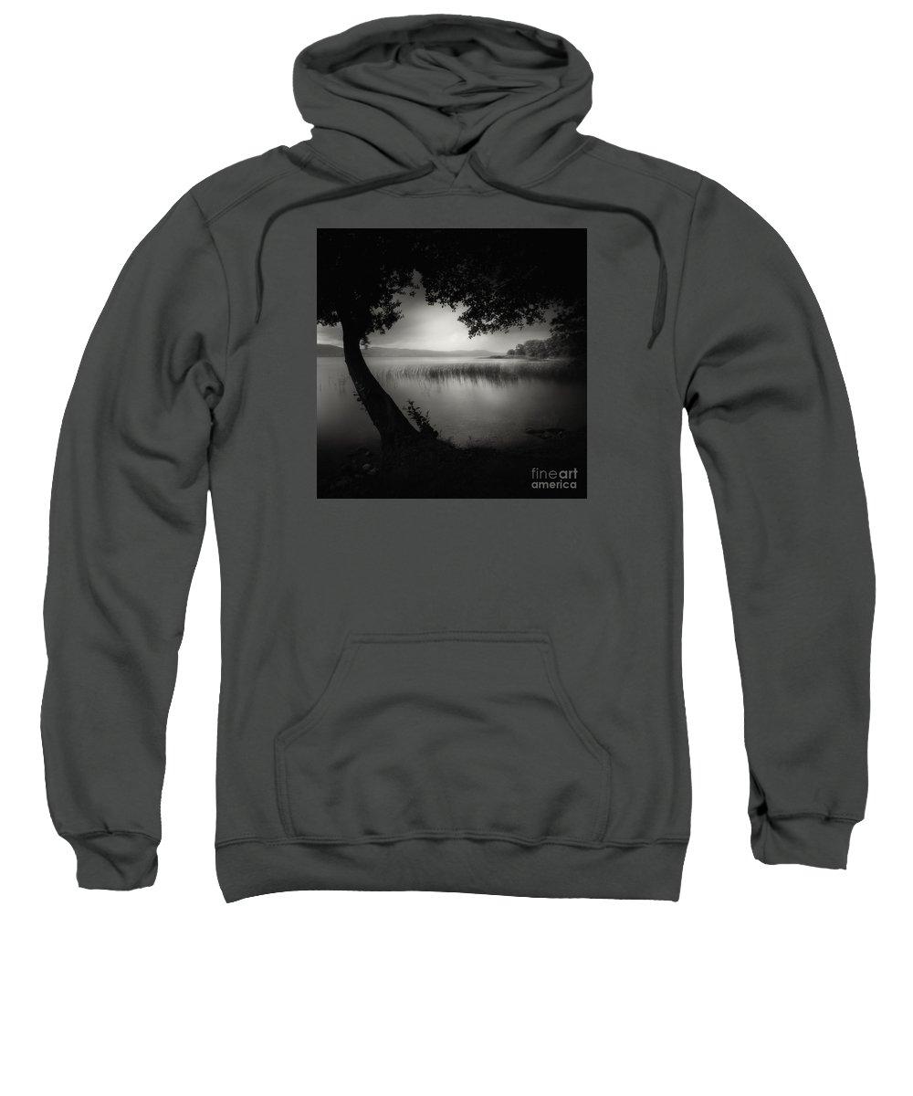 Blackandwhite Sweatshirt featuring the photograph No Name by Yucel Basoglu