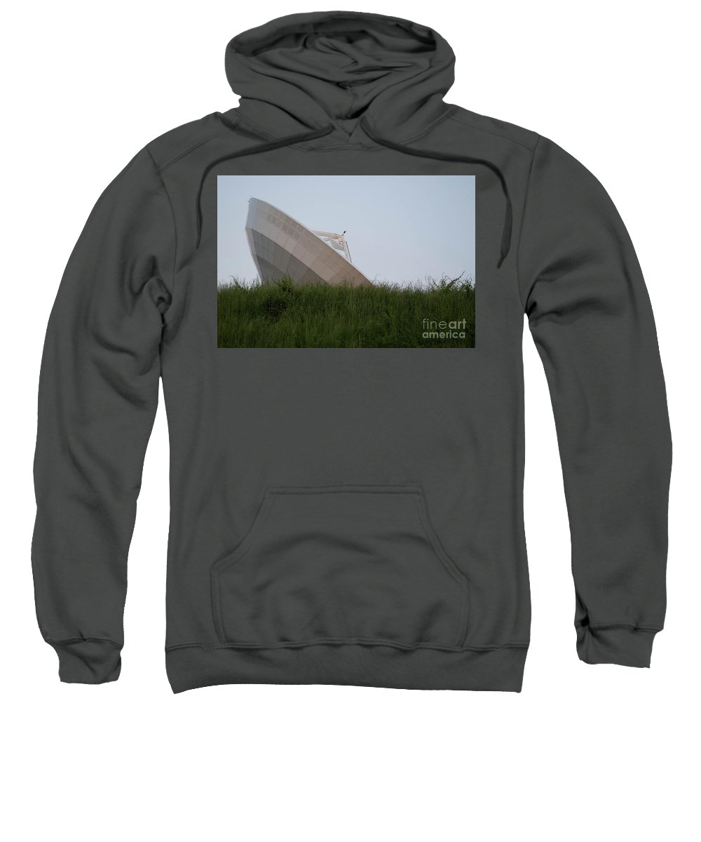 Noaa Sweatshirt featuring the photograph Noaa Satelite by Kevin Gladwell