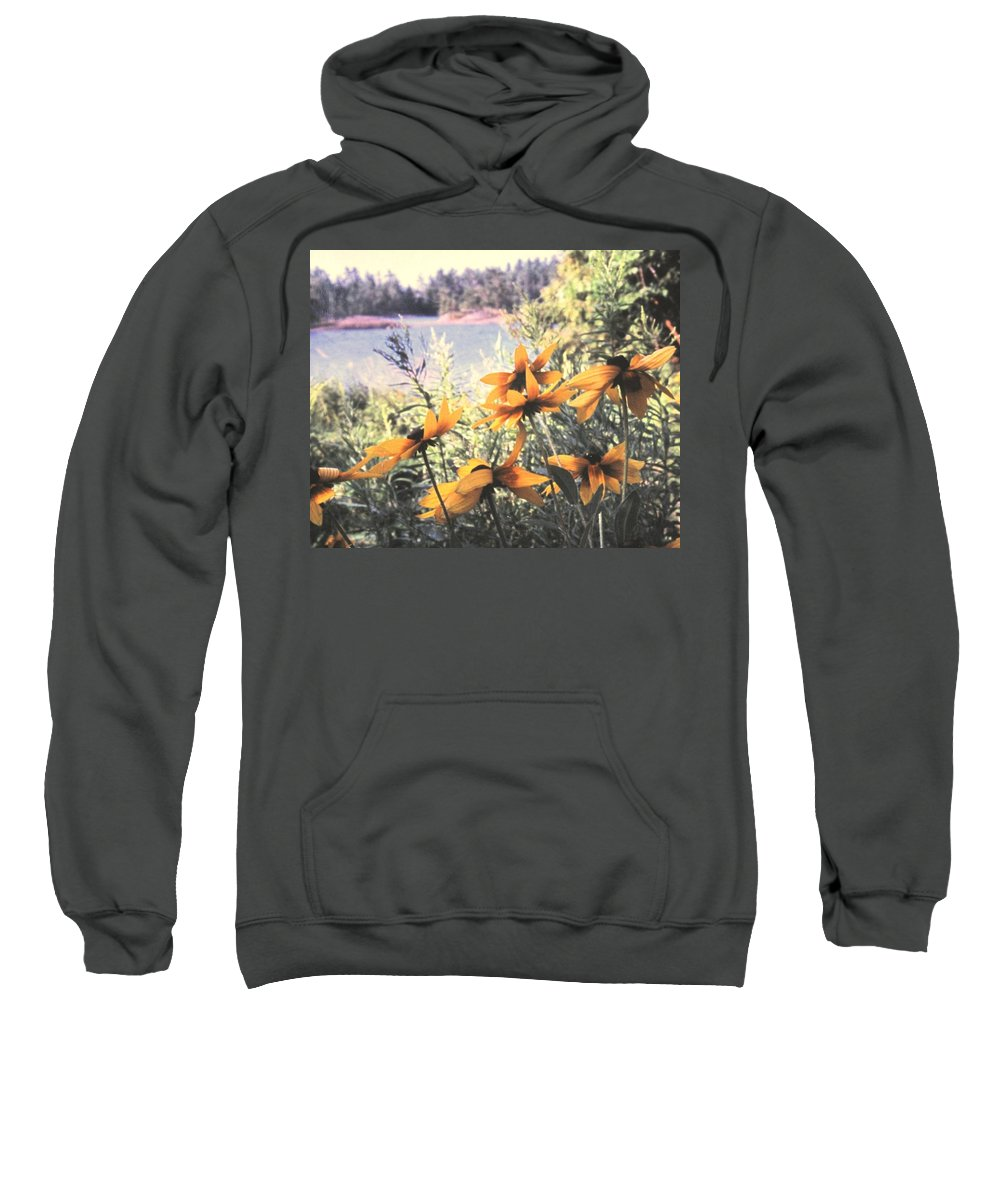 North Channel Sweatshirt featuring the photograph North Channel Beauties by Ian MacDonald