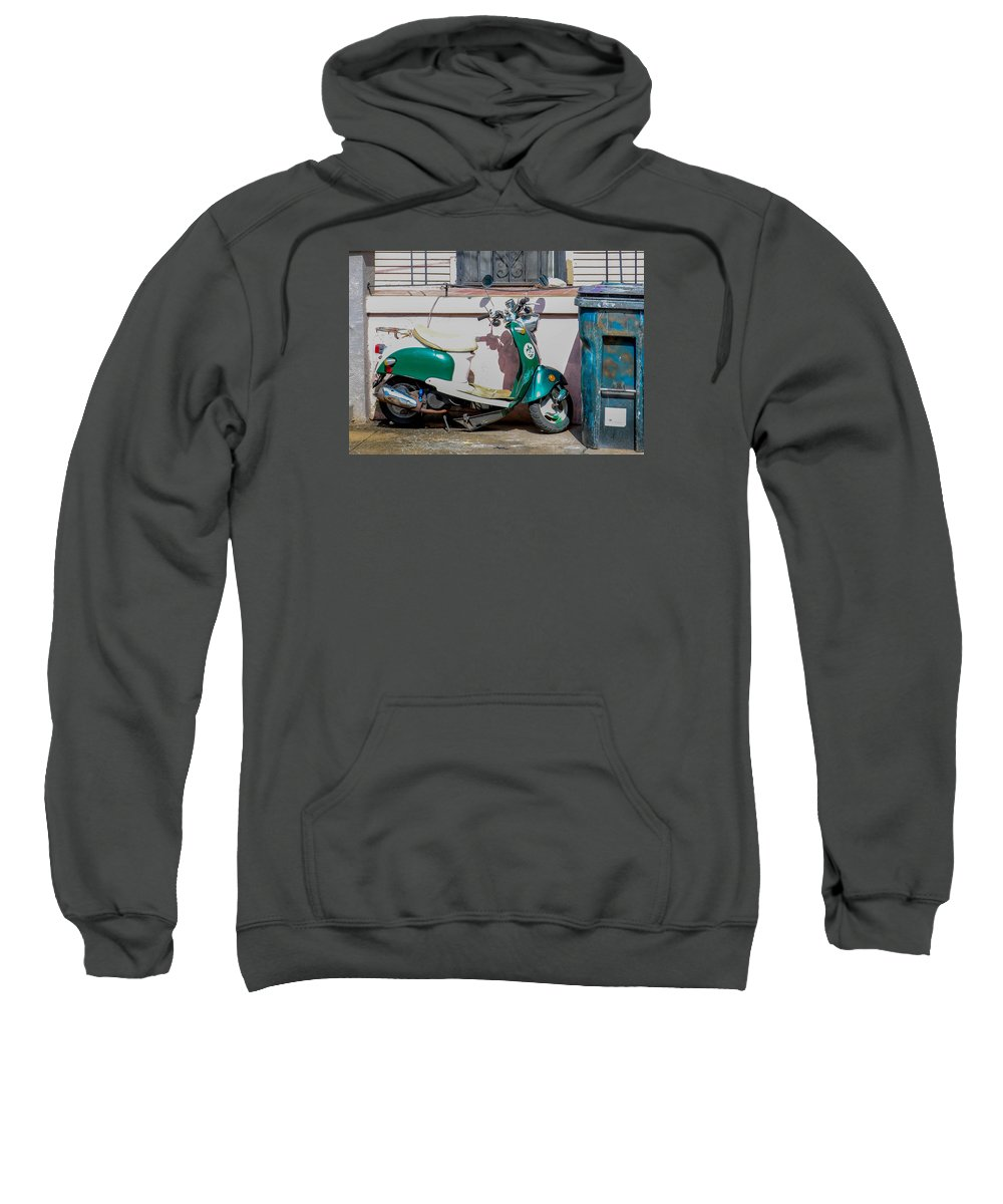 New Orleans Sweatshirt featuring the photograph Not Just A Flat by My NOLA Eye