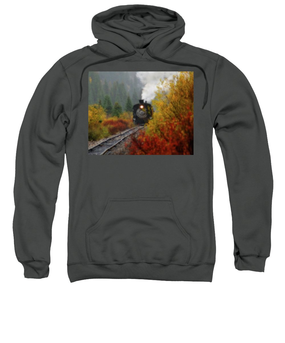 Colorado Sweatshirt featuring the photograph Number 482 by Steve Stuller