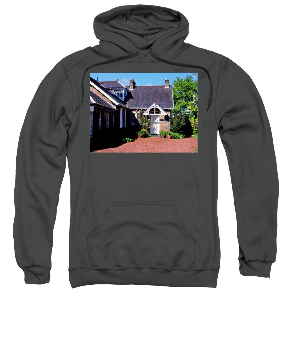 Nik Watt Sweatshirt featuring the photograph Number Two - Take 2 by Nik Watt