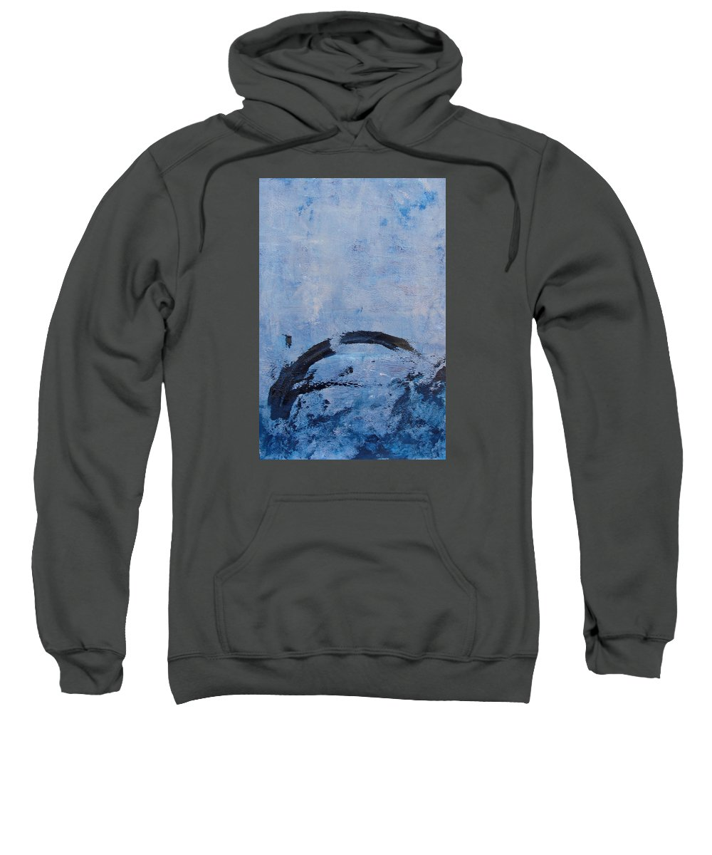 Abstract Sweatshirt featuring the painting Ocean Series Xxix by Michael Turner