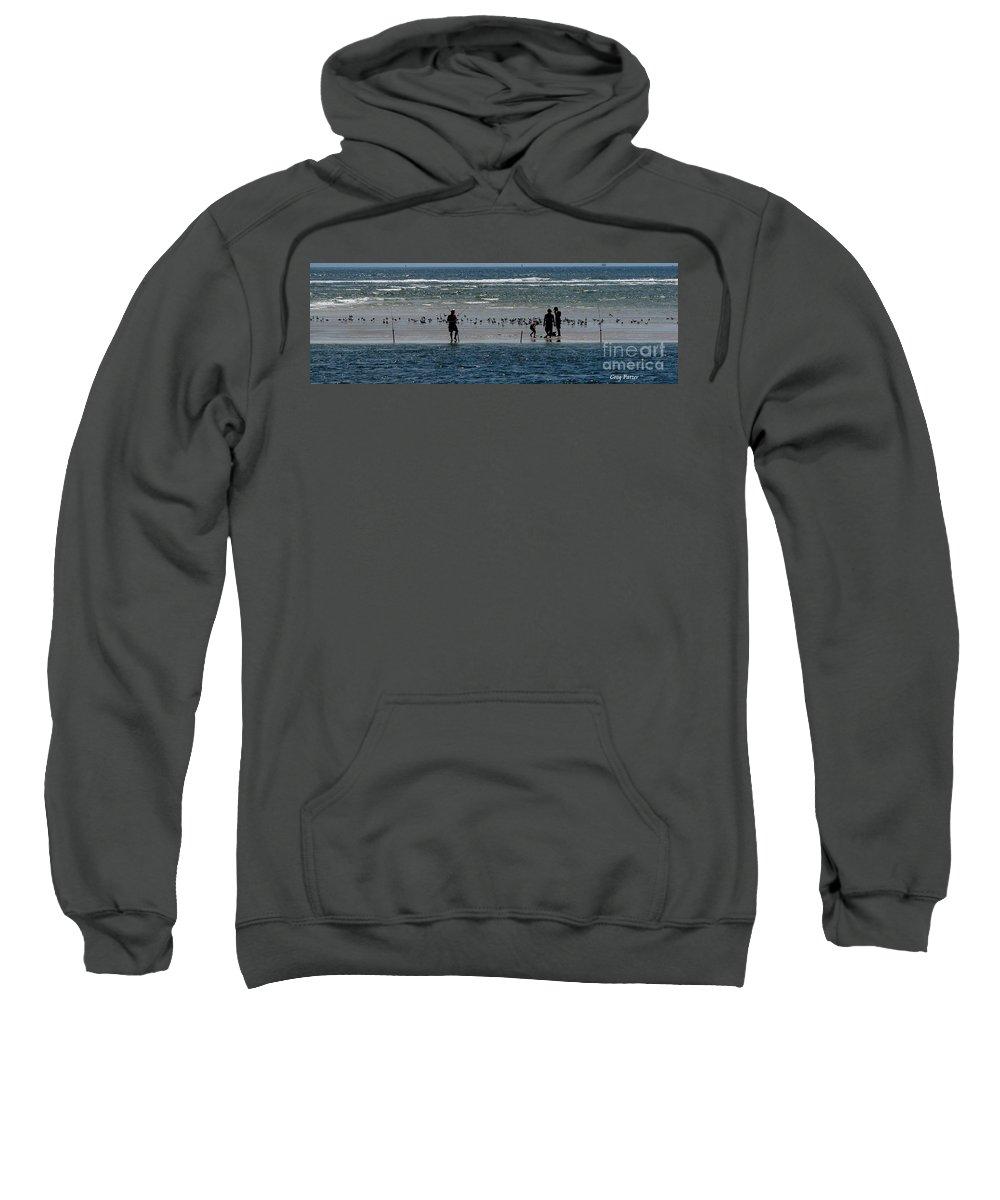 Atlantic Ocean Sweatshirt featuring the photograph Ocean Way by Greg Patzer