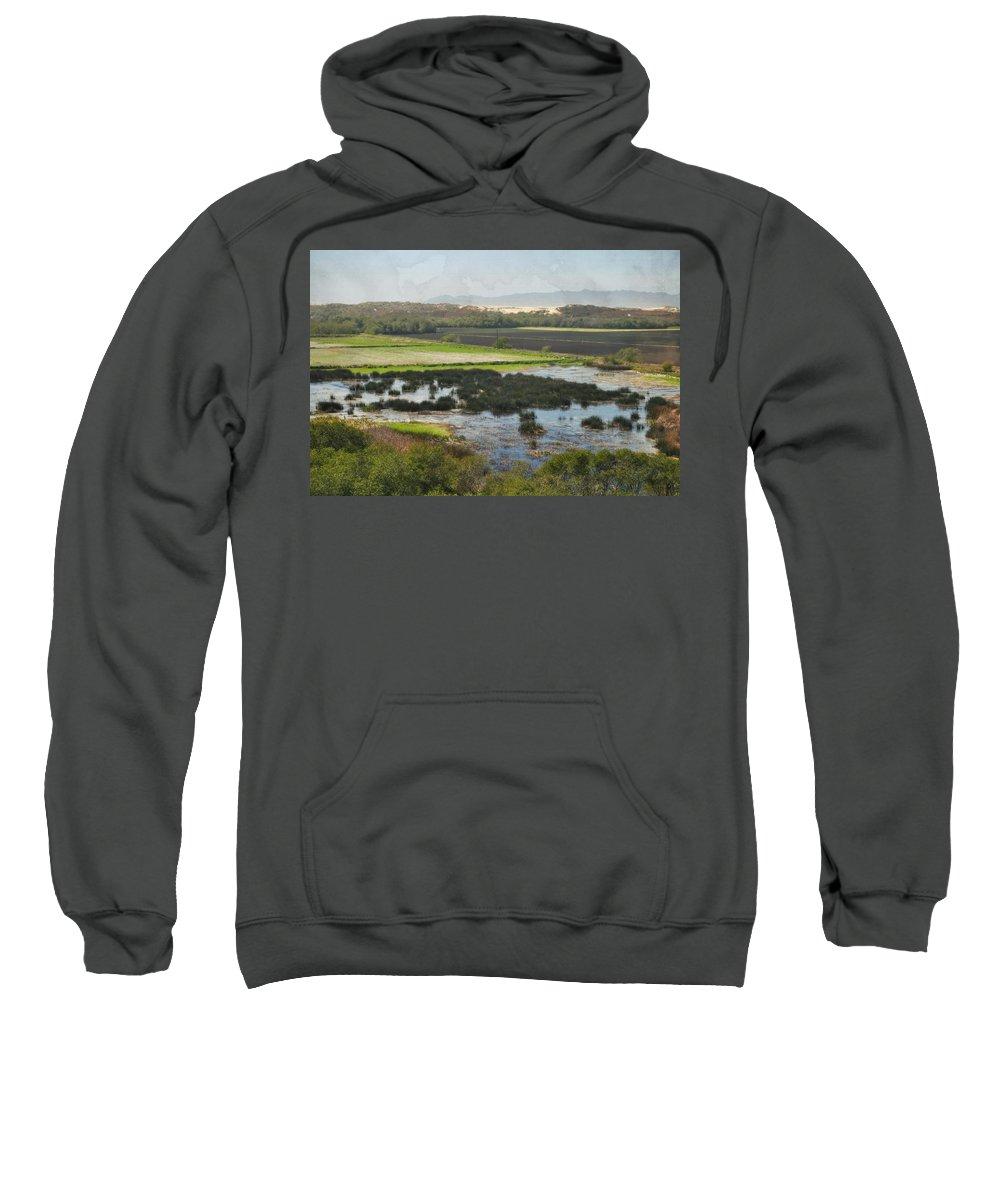 Oceano Dunes Natural Preserve Sweatshirt featuring the photograph Oceano Dunes Natural Preserve by Kyle Hanson
