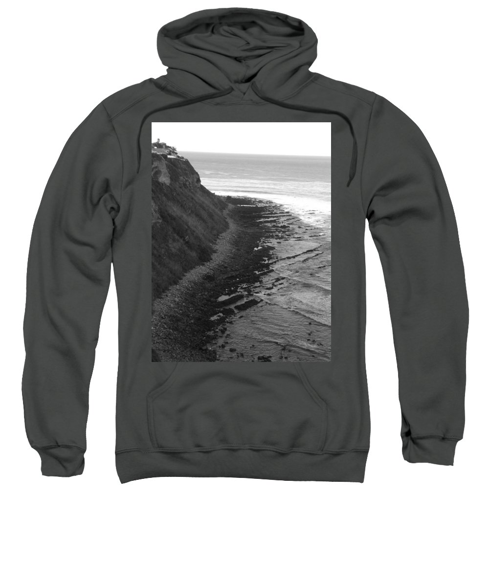 Beaches Sweatshirt featuring the photograph Oceans Edge by Shari Chavira