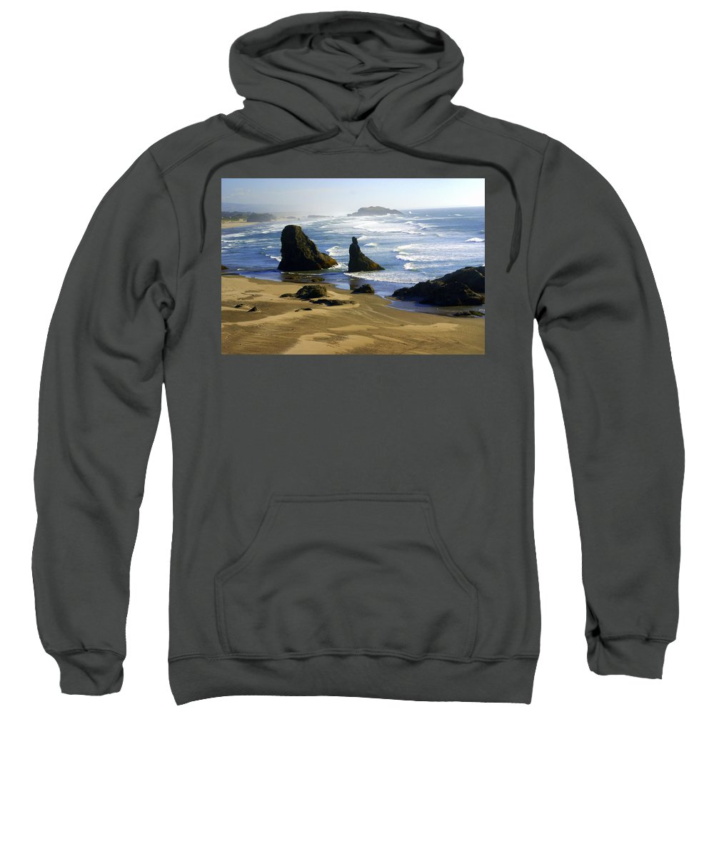 Beach Sweatshirt featuring the photograph Oceanscape by Marty Koch