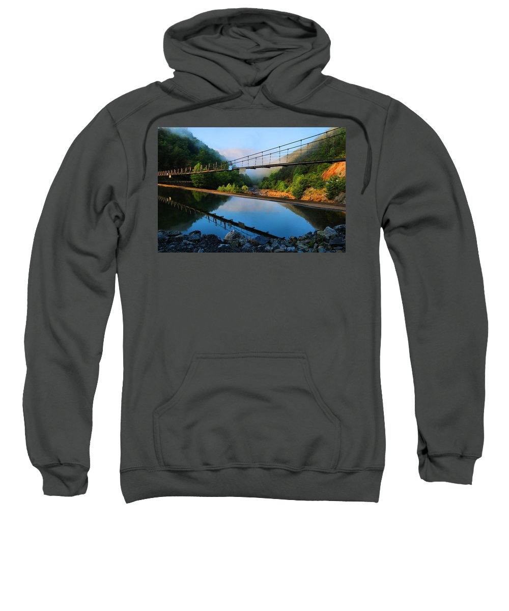 Ocoee Dam Sweatshirt featuring the photograph Ocoee Dam 3 by Kathryn Meyer