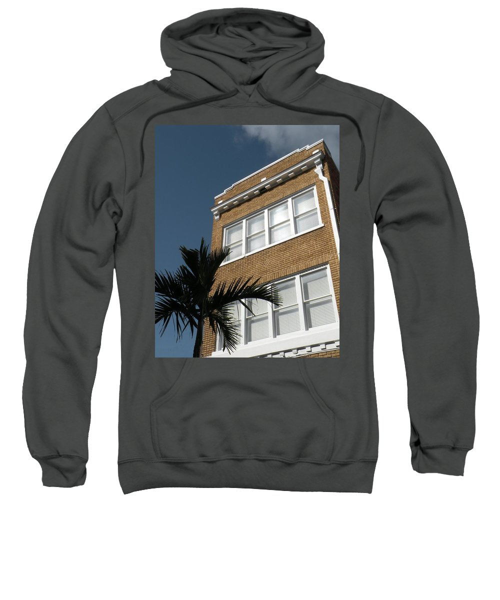 Building Sweatshirt featuring the photograph Old And Beautiful by Rosalie Scanlon