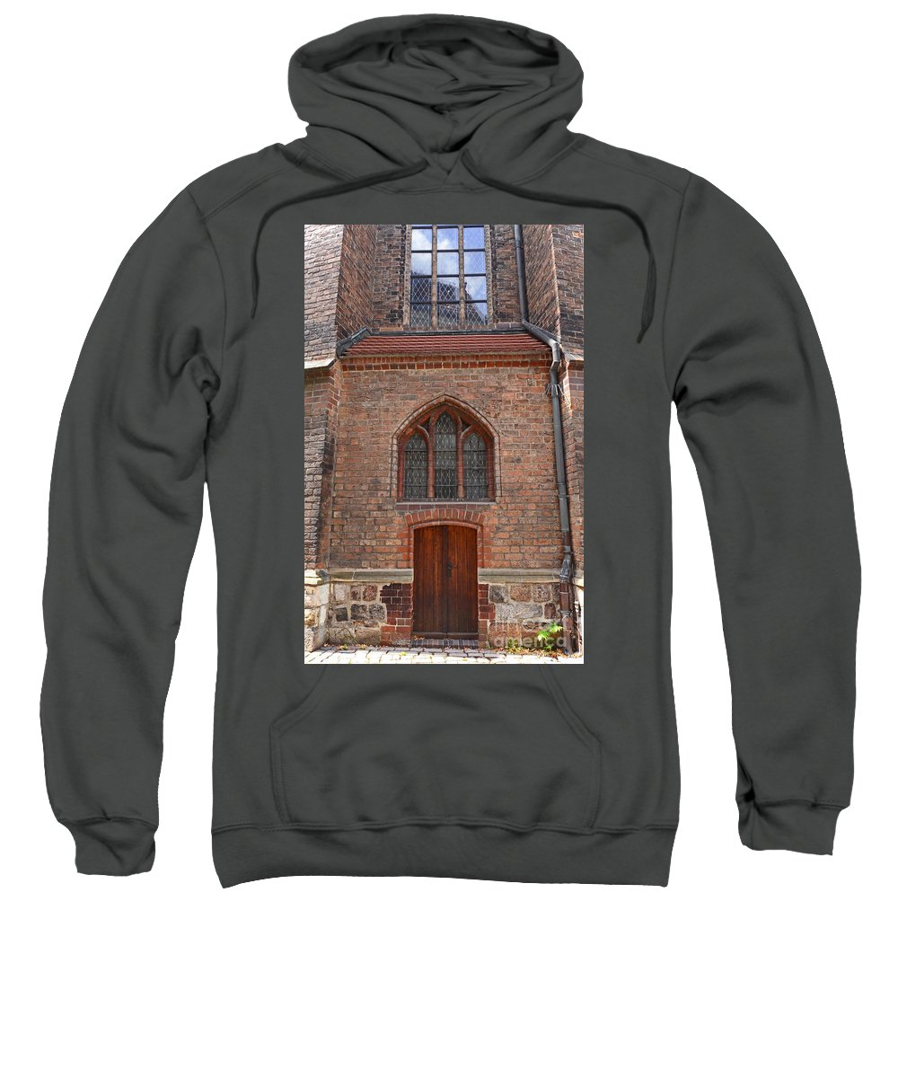 Berlin Sweatshirt featuring the photograph Old Church In Berlin by Elaine Berger