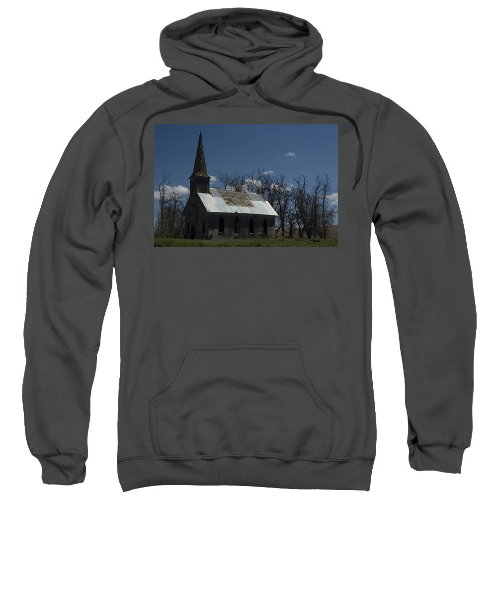 Church Sweatshirt featuring the photograph Old Church by Sara Stevenson