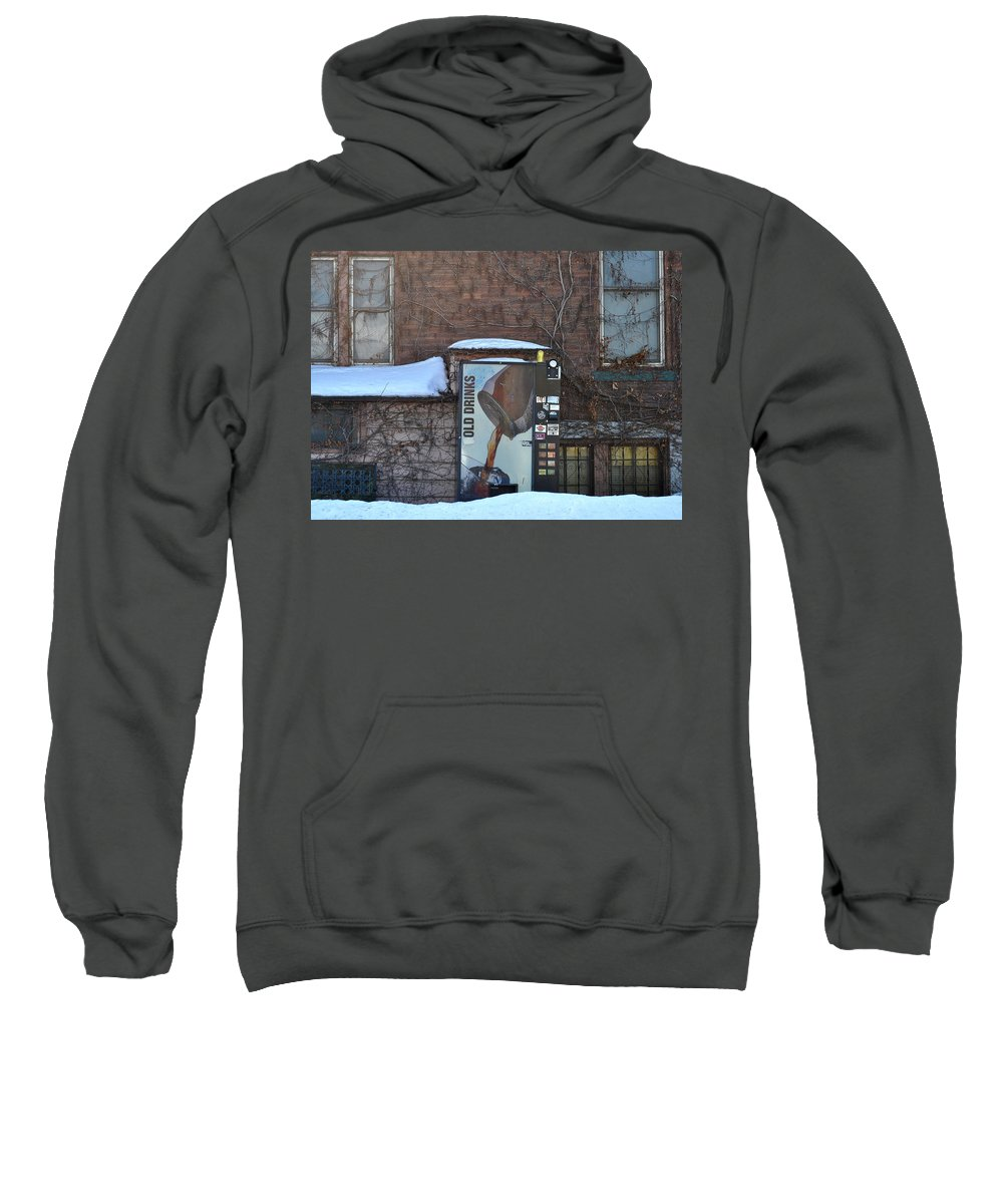 Drinks Sweatshirt featuring the photograph Old Drinks by Tim Nyberg