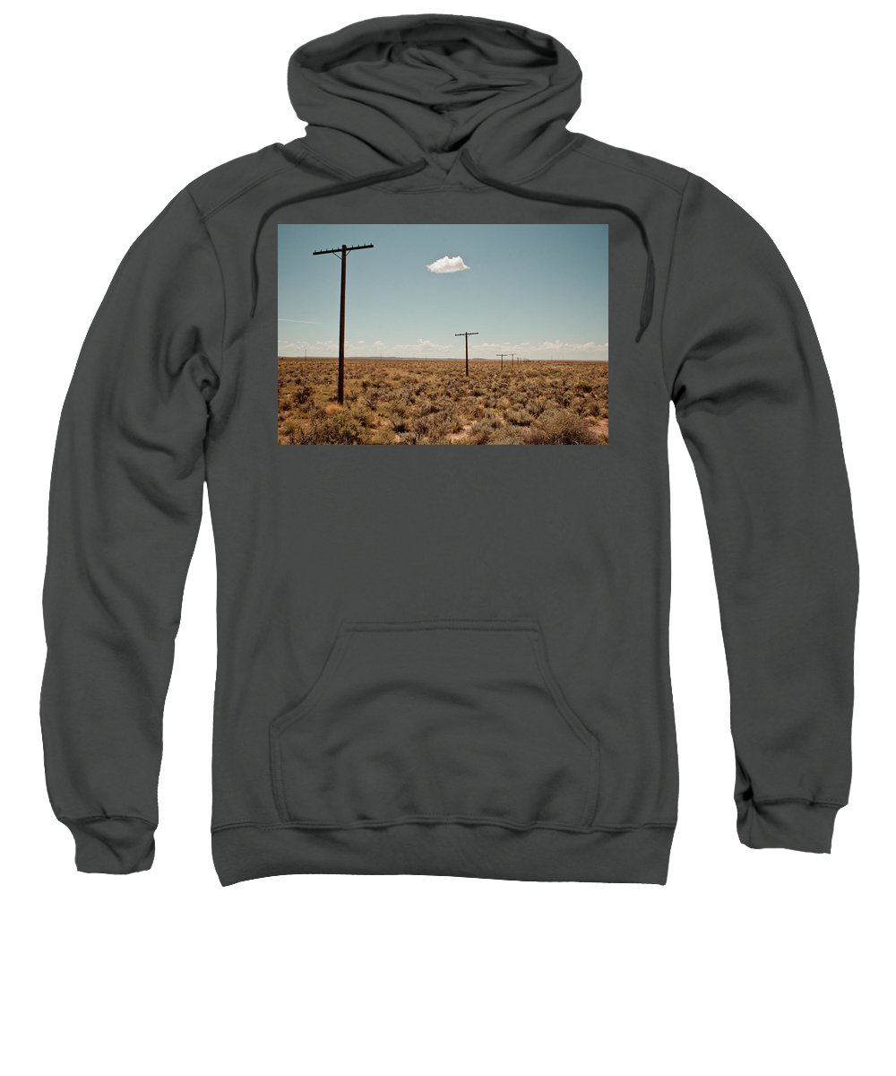 Route 66 Sweatshirt featuring the photograph Old Route 66 #3 by Robert J Caputo