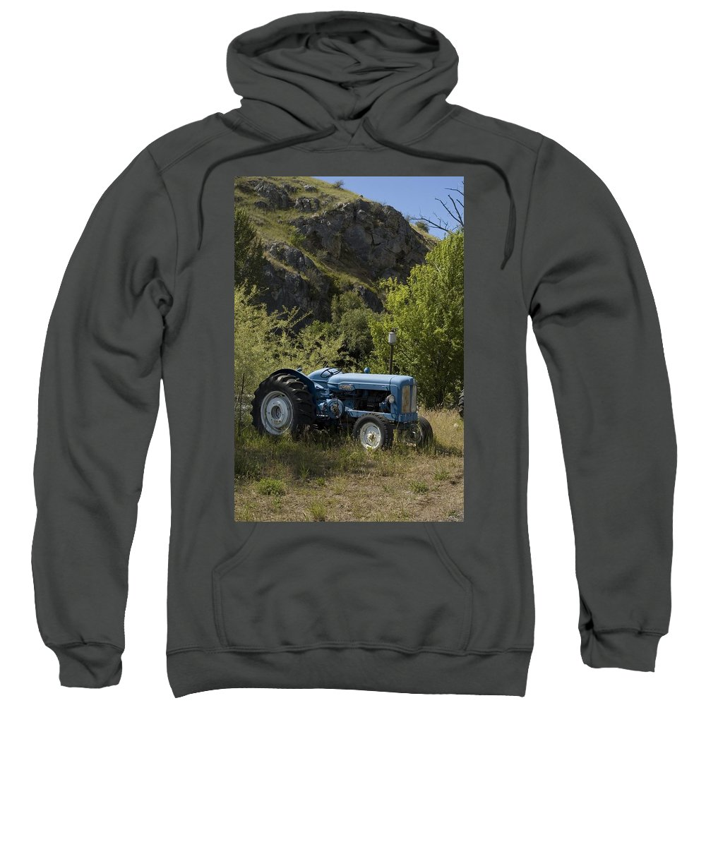 Tractor Sweatshirt featuring the photograph Old Tractor 5 by Sara Stevenson