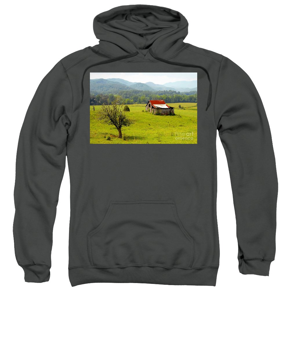 Farm Sweatshirt featuring the photograph Once Upon A Time by David Lee Thompson