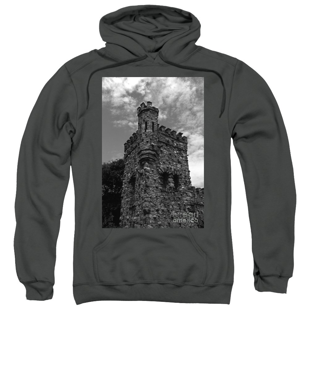 Castle Sweatshirt featuring the photograph Once Upon A Time by Richard Rizzo