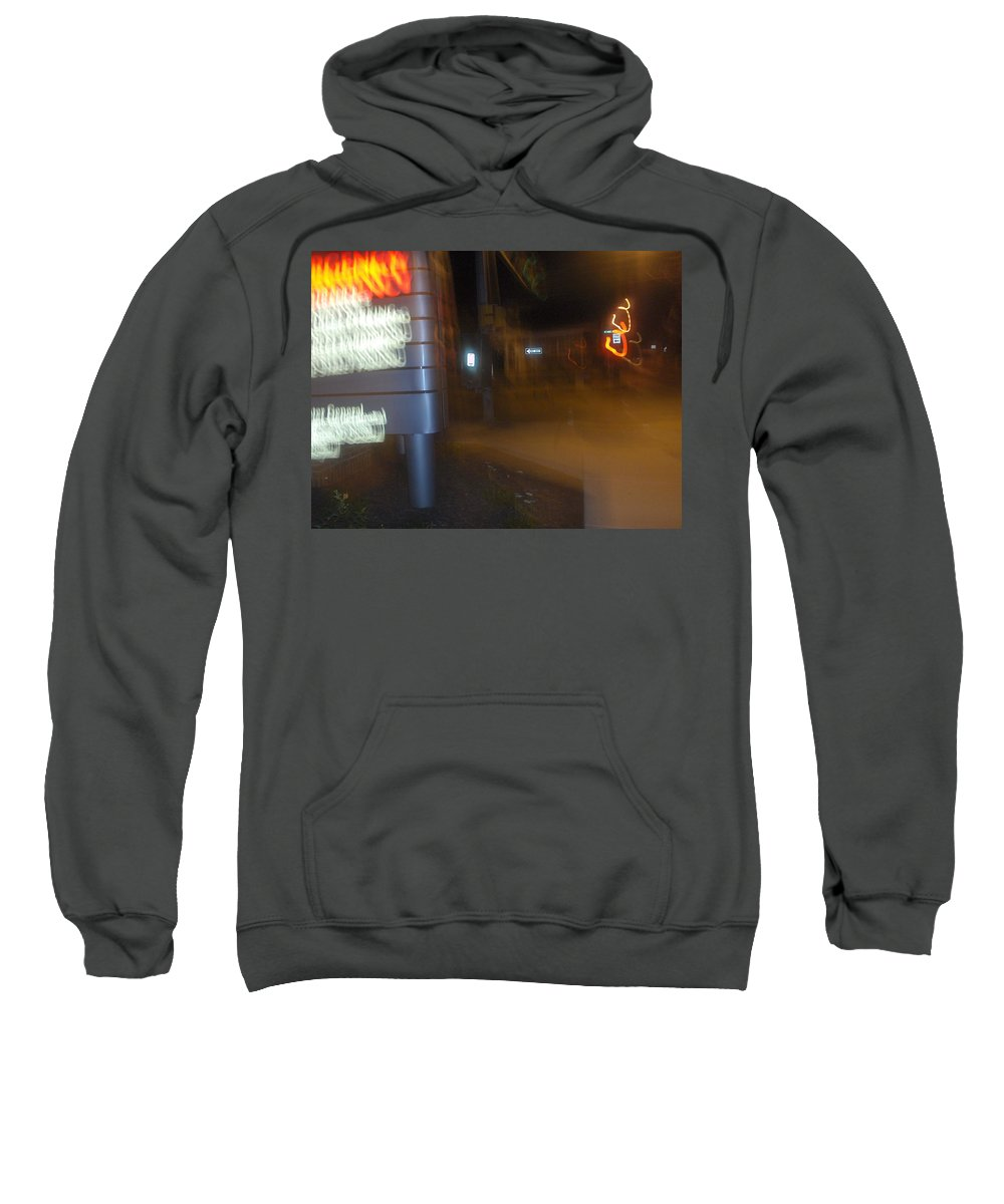 Photograph Sweatshirt featuring the photograph One Way by Thomas Valentine