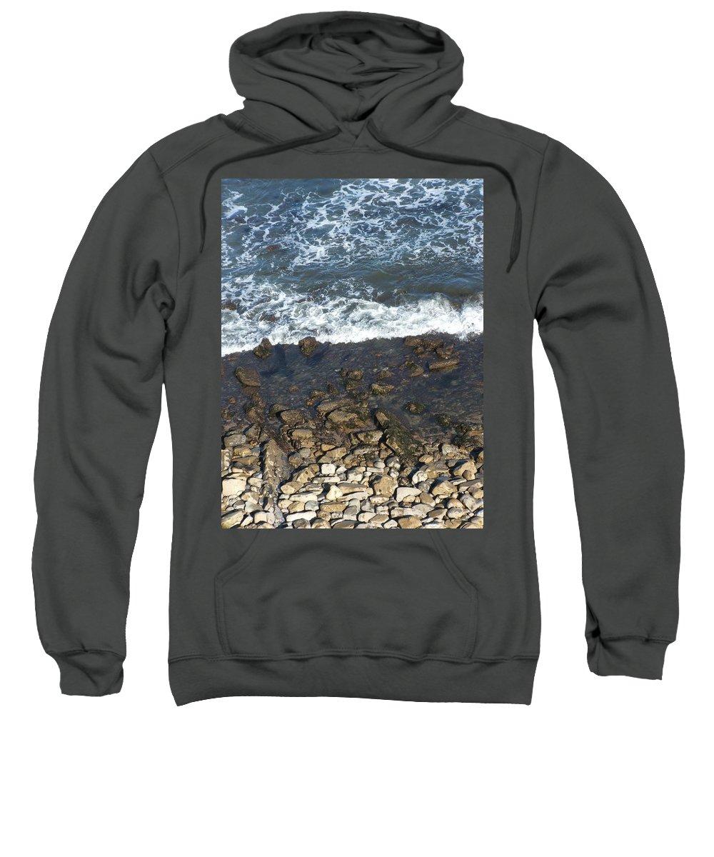 Ocean Sweatshirt featuring the photograph Opponents by Shari Chavira
