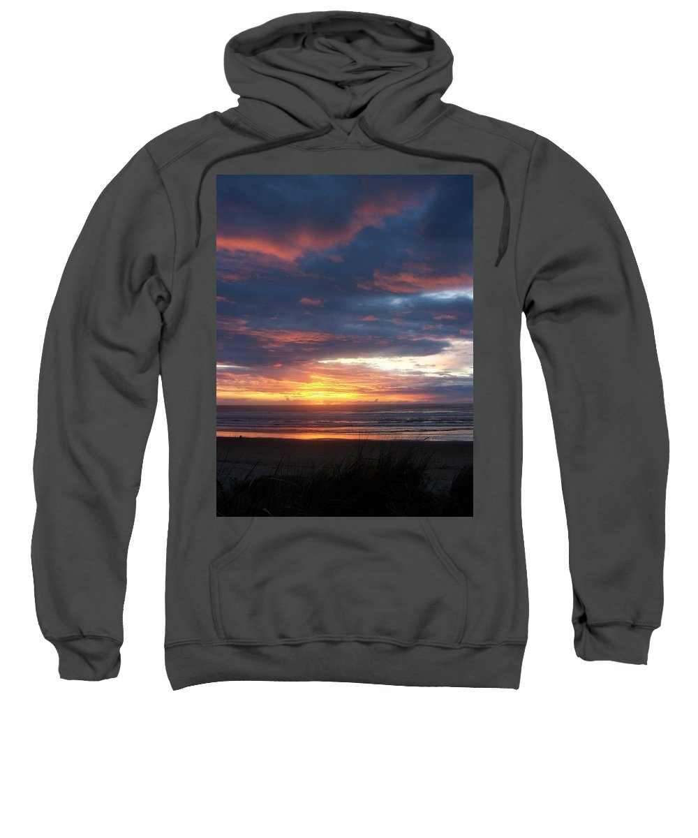 Beach Sweatshirt featuring the photograph Oregon Coast 11 by Deahn   Benware