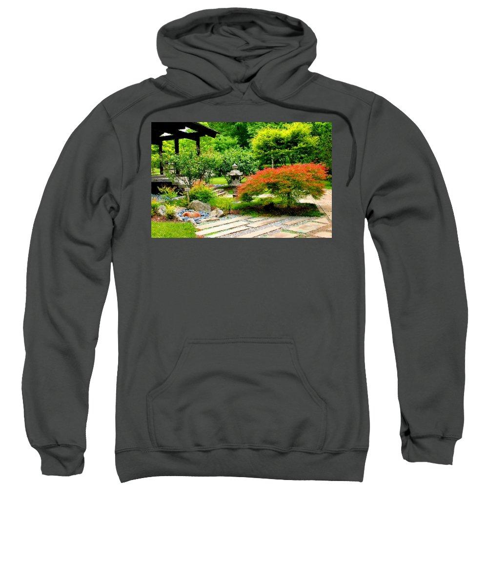 Oriental Sweatshirt featuring the photograph Oriental Scenic by Kristin Elmquist