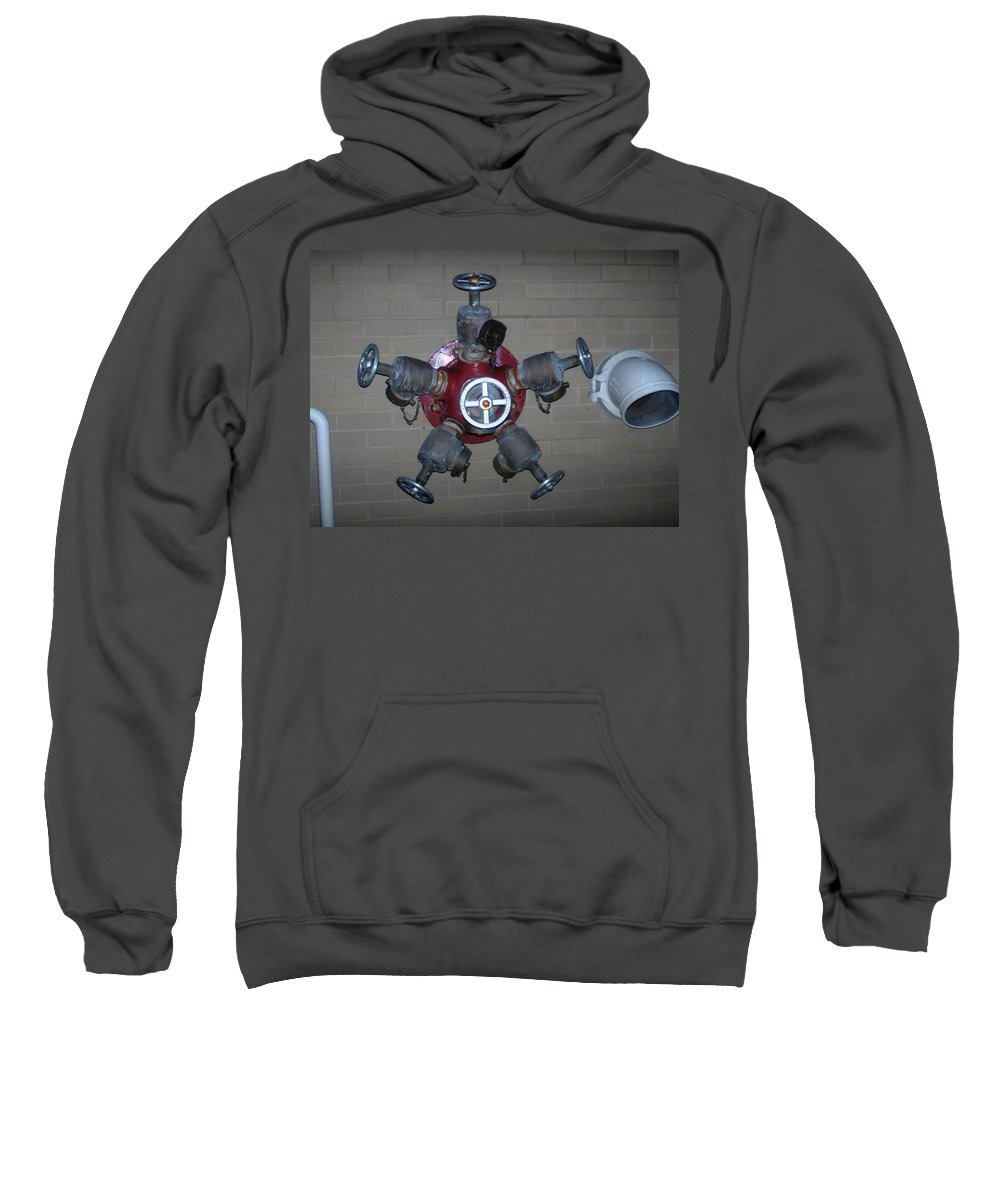 Photograph Sweatshirt featuring the photograph Original Male Pipe by Thomas Valentine
