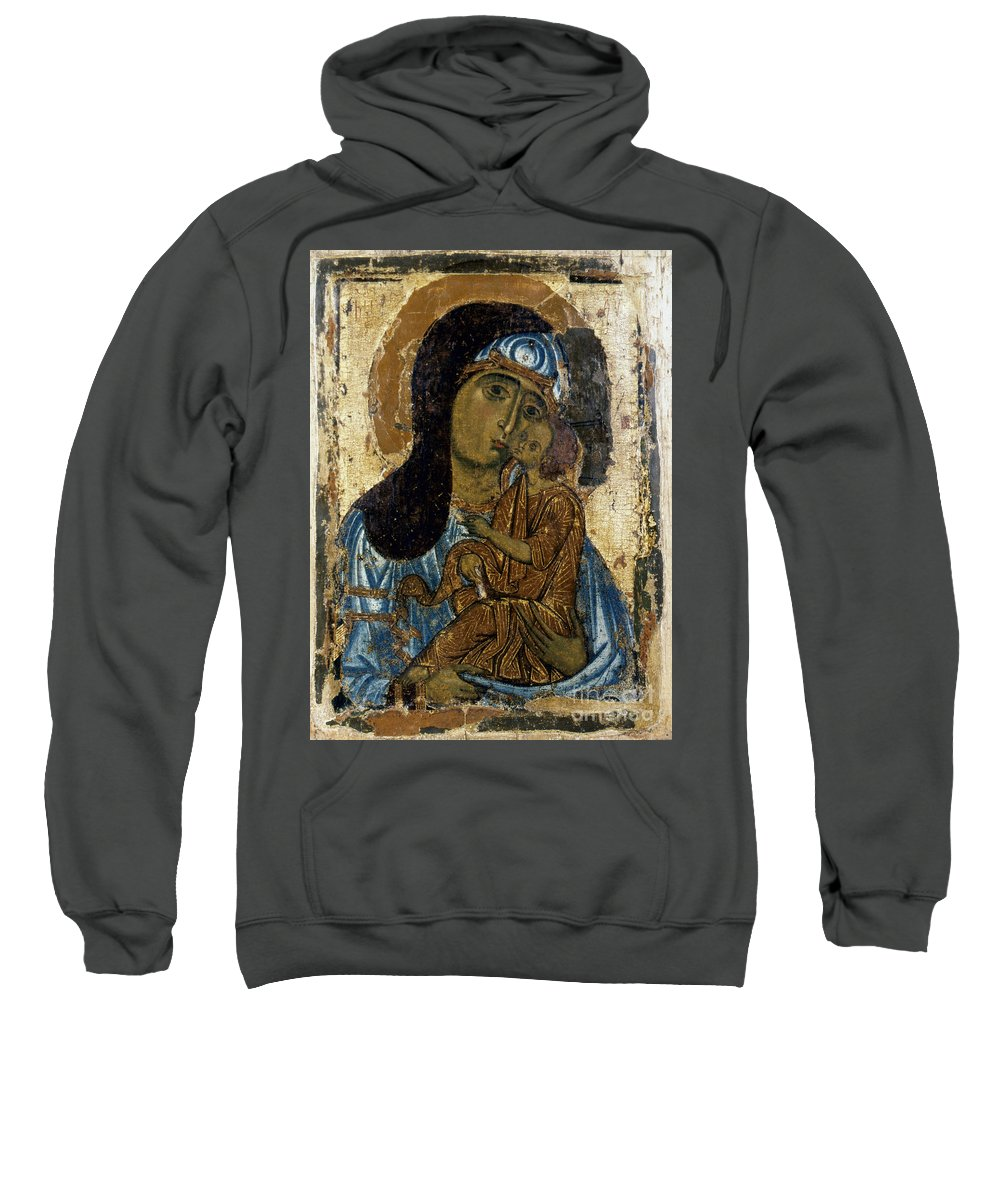 12th Century Sweatshirt featuring the photograph Our Lady Of Tenderness by Granger