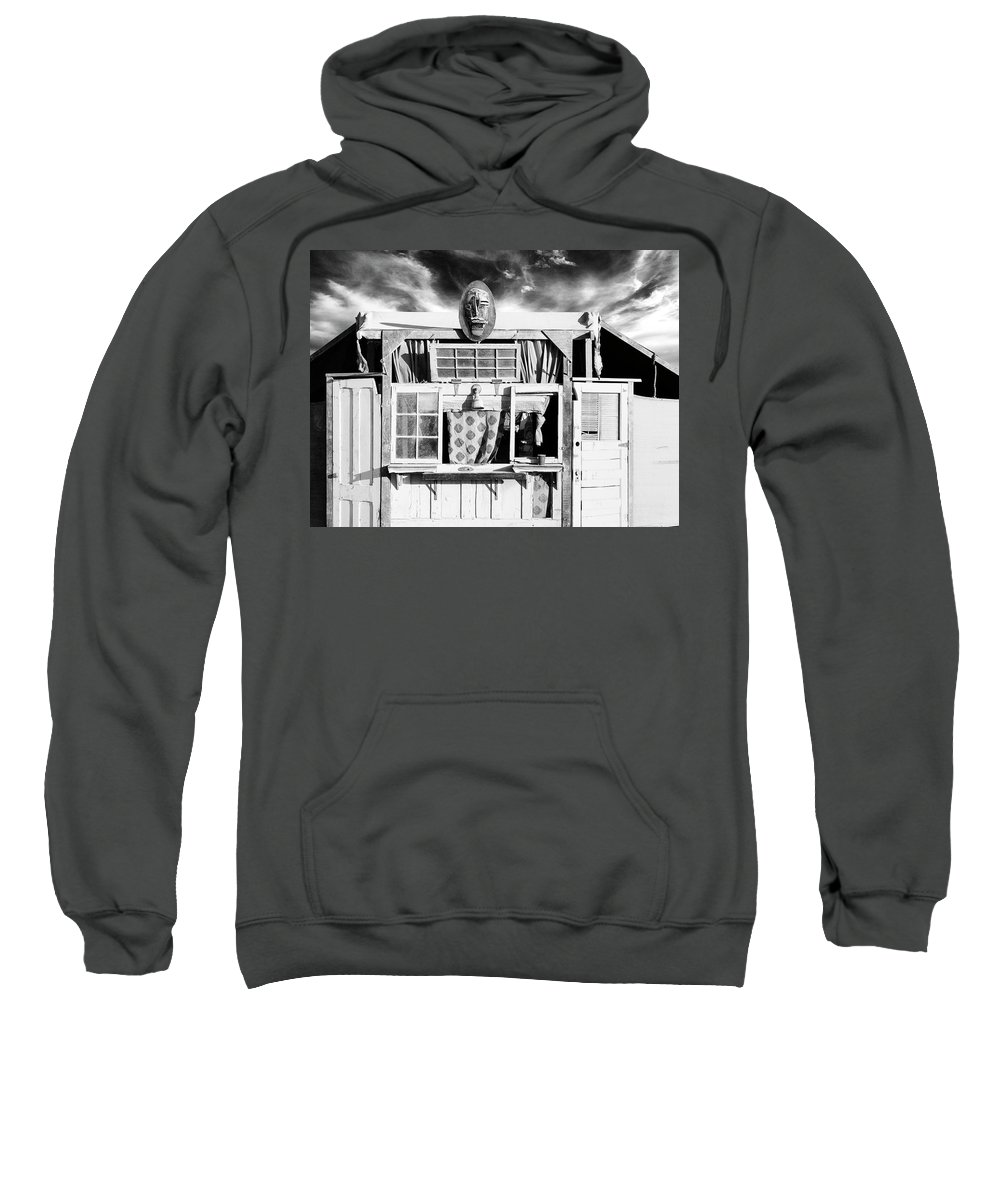 Shack Sweatshirt featuring the photograph Outpost by Dominic Piperata