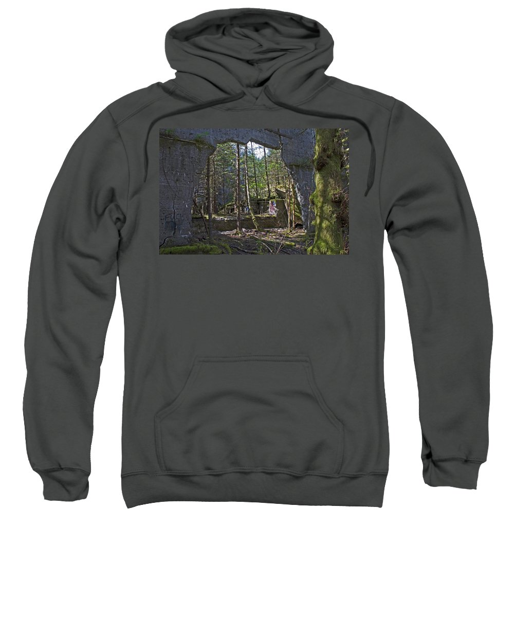Wall Sweatshirt featuring the photograph Outside Looking In by Cathy Mahnke