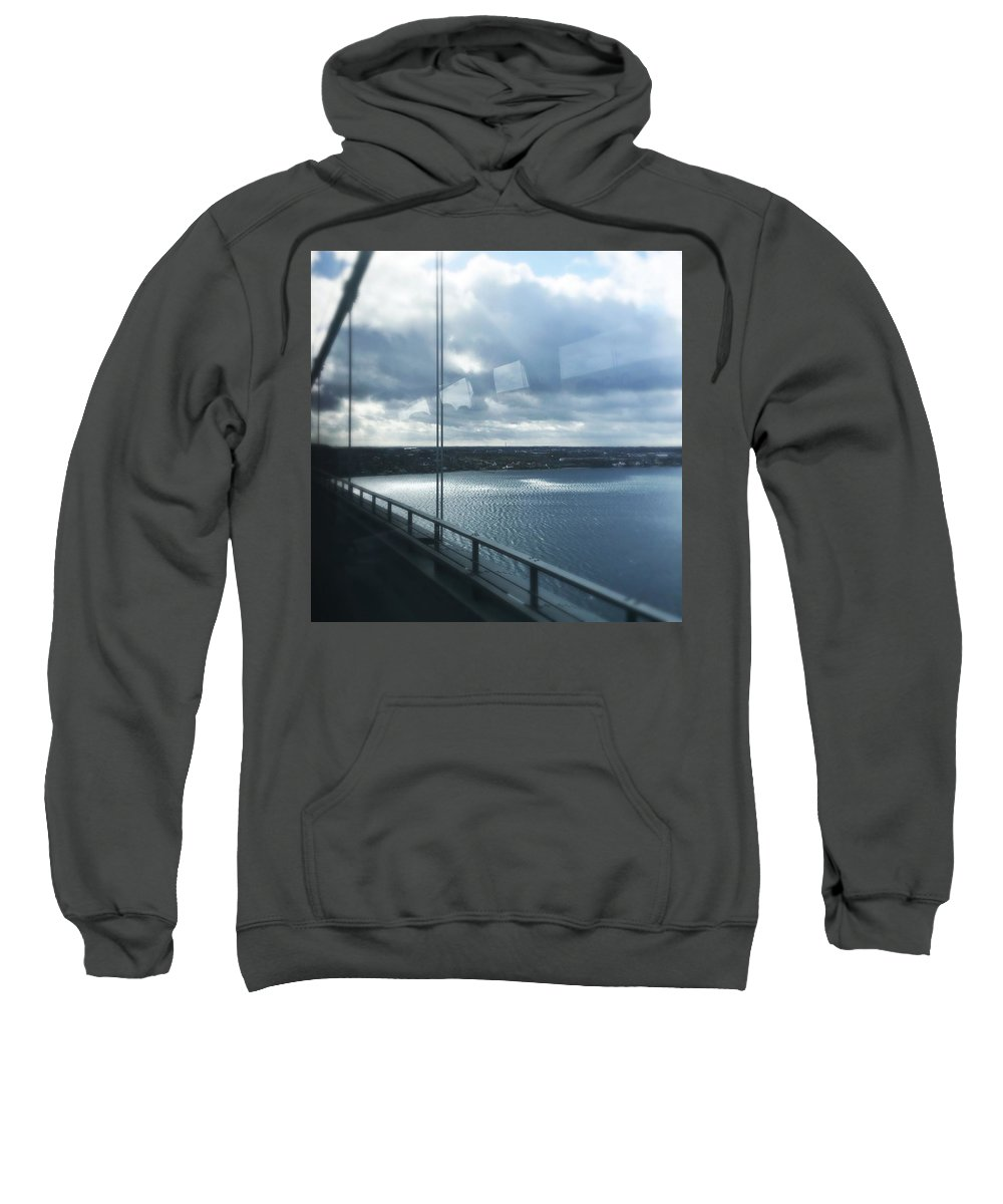 Bridge Sweatshirt featuring the photograph Over The Bridge by Irina Totolici