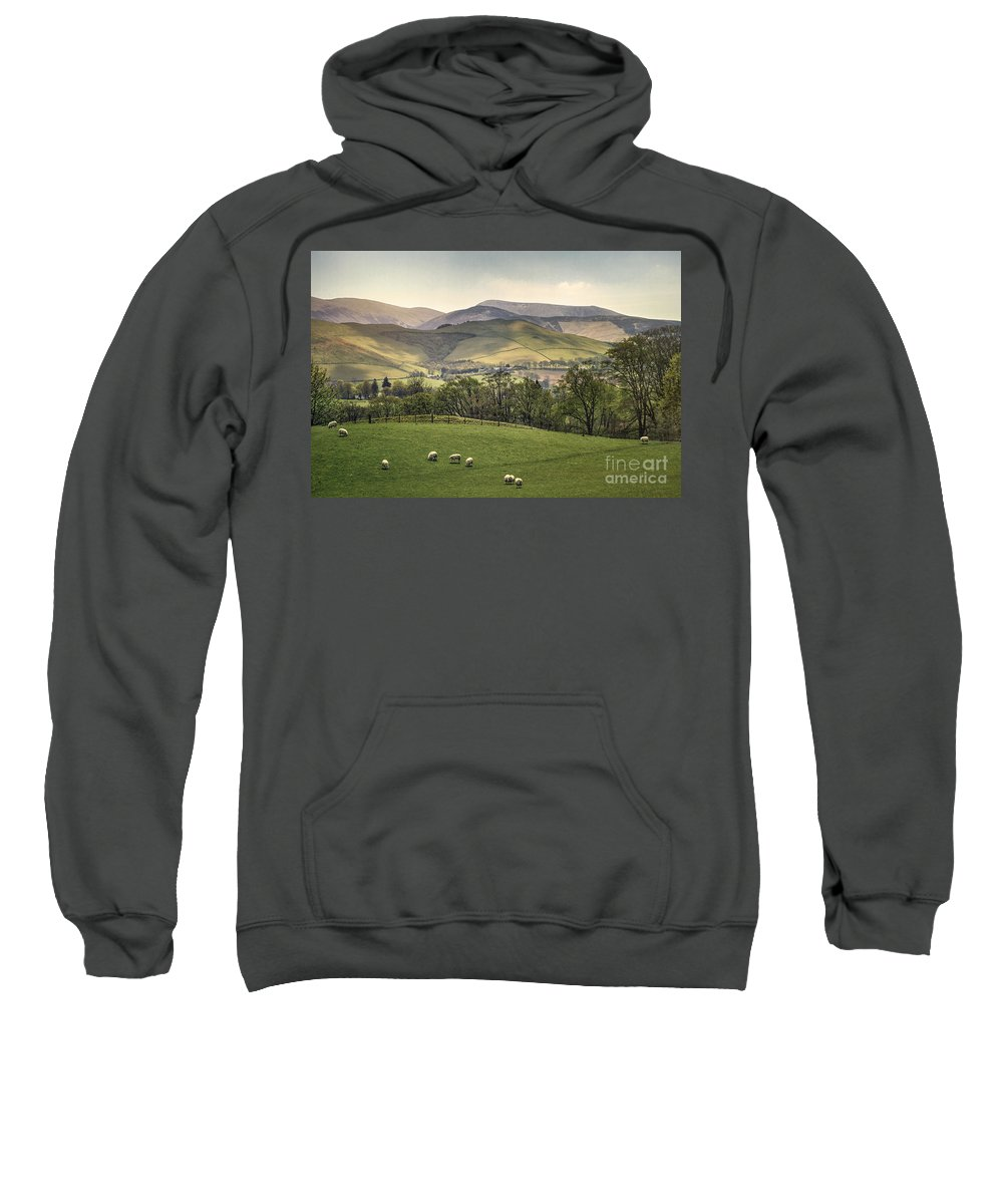 Kremsdorf Sweatshirt featuring the photograph Over The Hills And Far Away by Evelina Kremsdorf