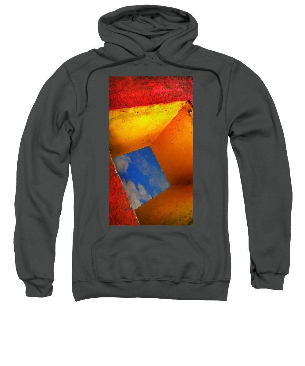 Skip Hunt Sweatshirt featuring the photograph Over The Rainbow by Skip Hunt