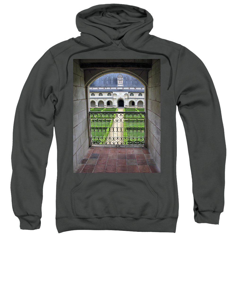 Gardens Sweatshirt featuring the photograph Overlooking The Gardens by Dave Mills