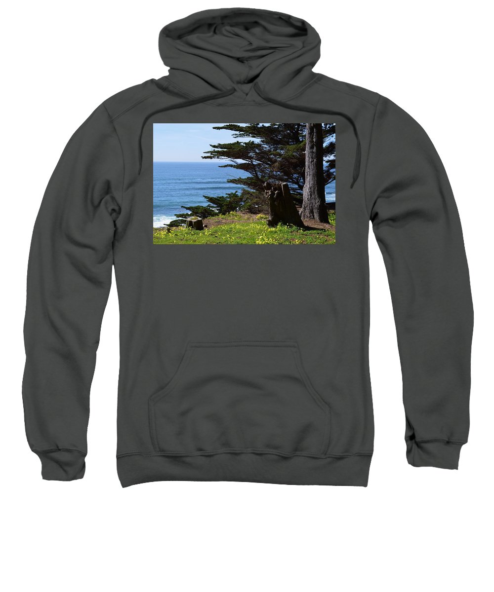 Pacific Beauty Sweatshirt featuring the photograph Pacific Beauty by Warren Thompson