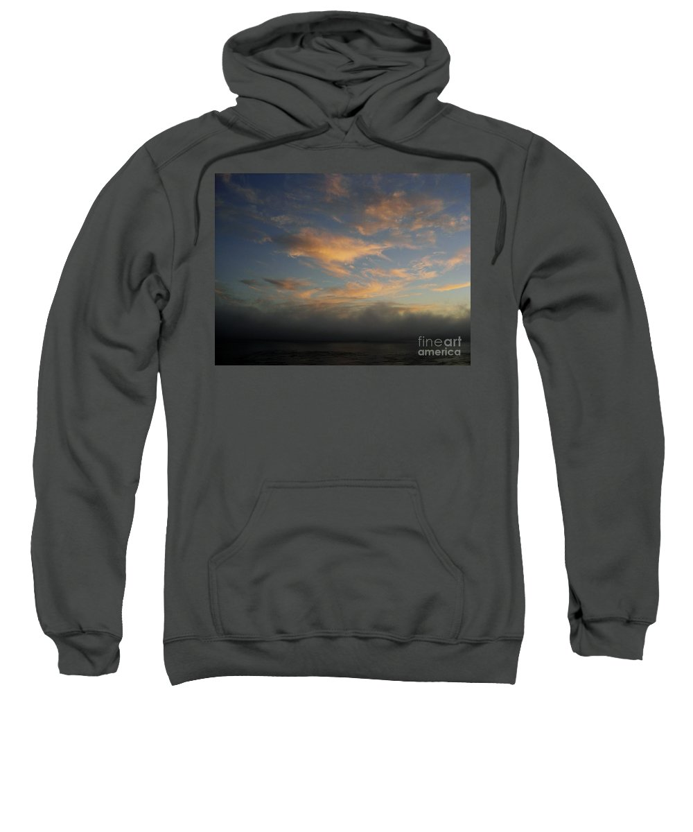Ocean Sweatshirt featuring the photograph Pacific Grove Sunrise by Mary Rogers