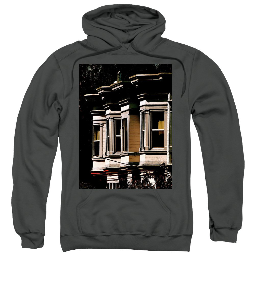 San Francisco Sweatshirt featuring the photograph Page At Golden Gate Park by Ira Shander
