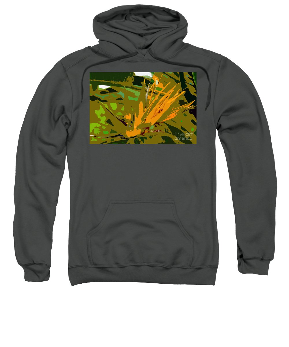 Paradise Sweatshirt featuring the photograph Paradise Work Number 9 by David Lee Thompson