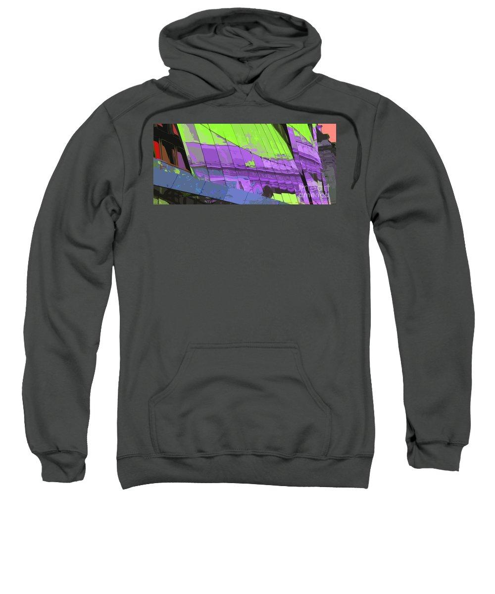 Paris Sweatshirt featuring the photograph Paris Arc De Triomphe by Yuriy Shevchuk