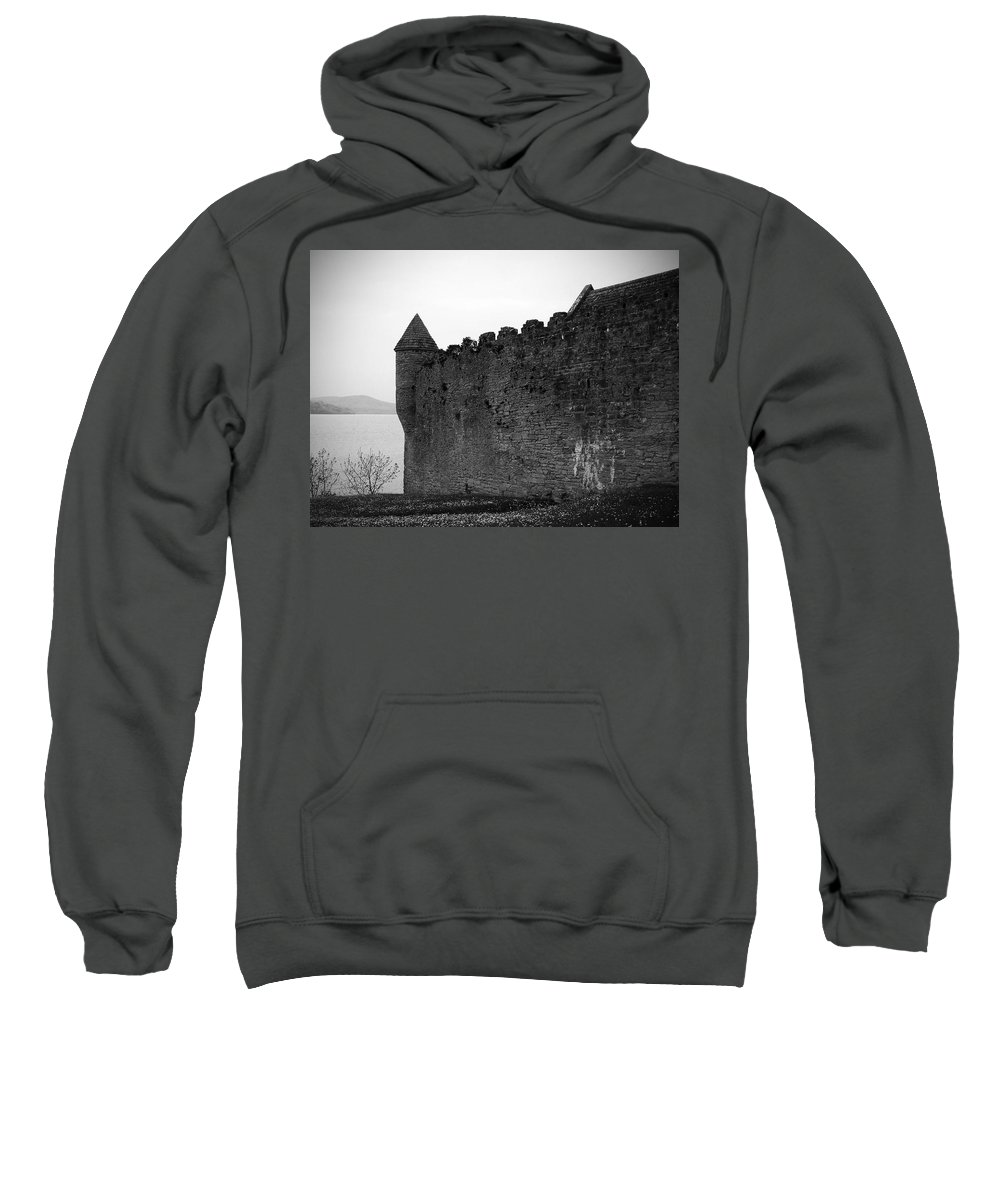Ireland Sweatshirt featuring the photograph Parkes Castle County Leitrim Ireland by Teresa Mucha