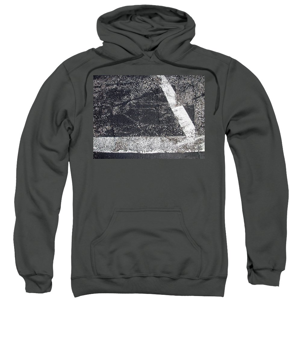 Parking Lot Sweatshirt featuring the photograph Parking Lot 2 by Anita Burgermeister