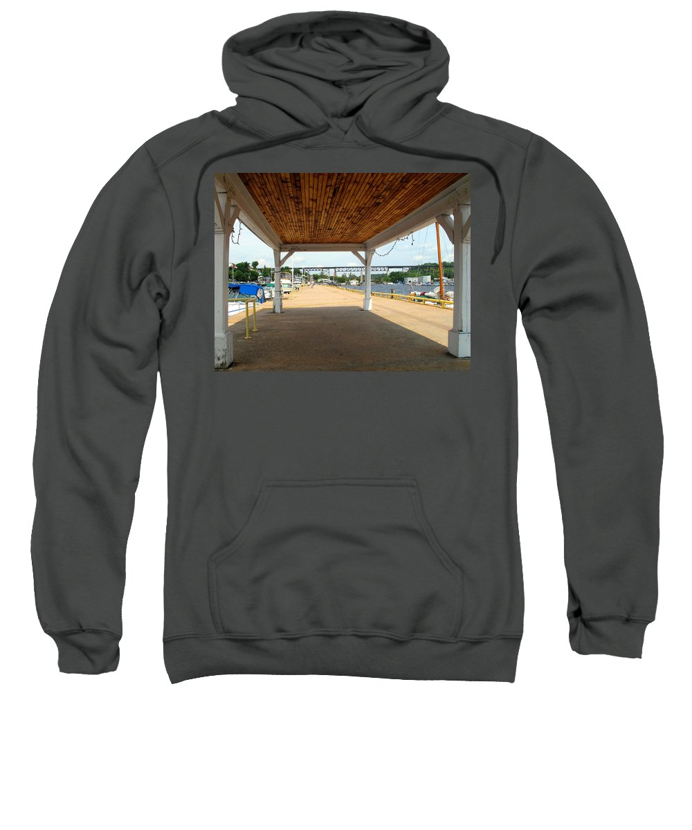 Parry Sound Sweatshirt featuring the photograph Parry Sound by Ian MacDonald