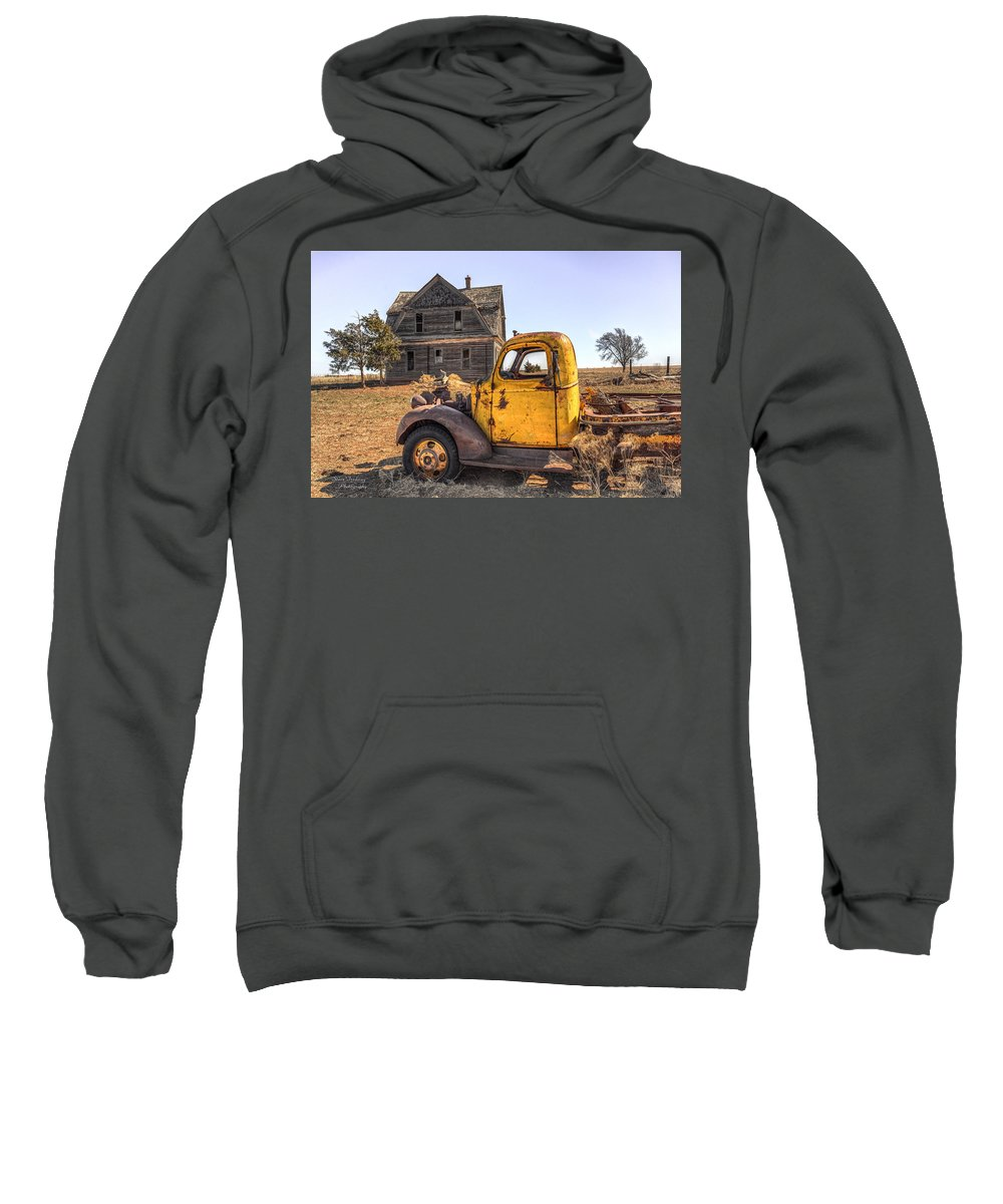 Old Sweatshirt featuring the photograph Past Time by Steve Tredway