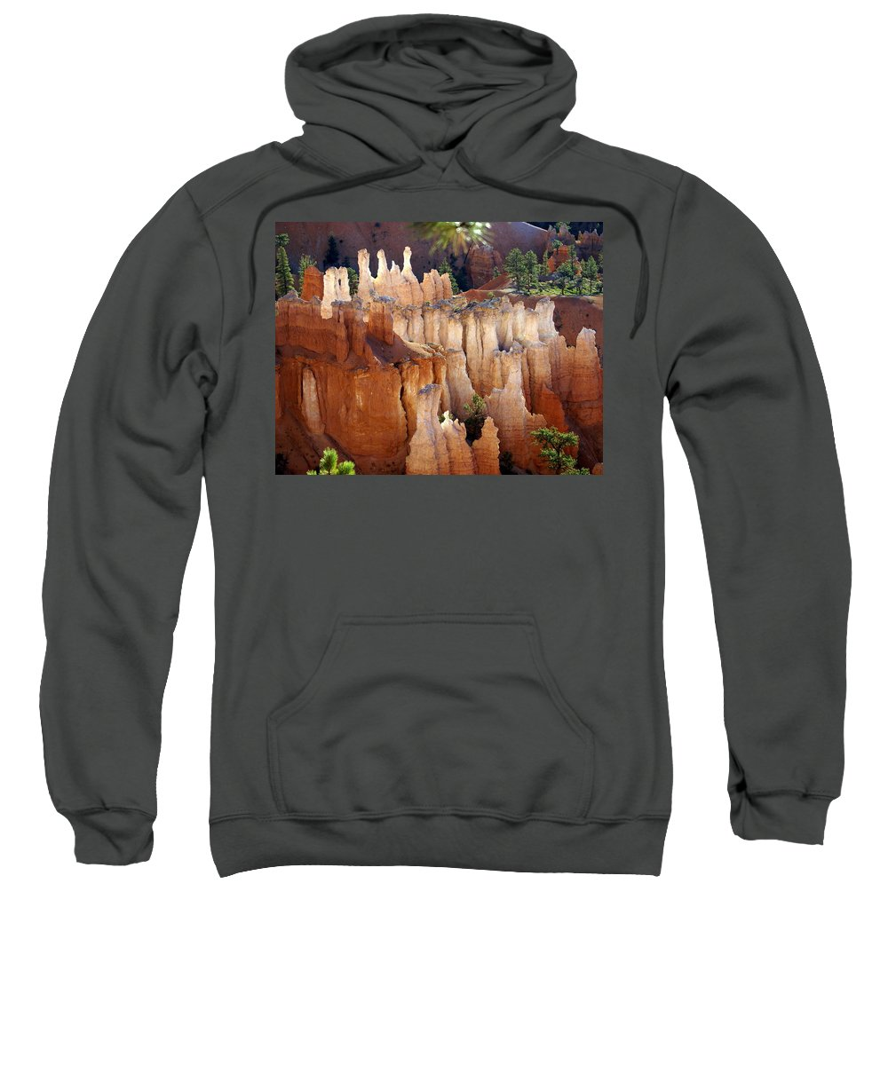 Bryce Canyon National Park Sweatshirt featuring the photograph Pastel Bryce by Marty Koch