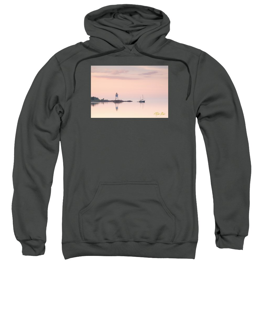 Buildings Sweatshirt featuring the photograph Pastel Morning by Rikk Flohr