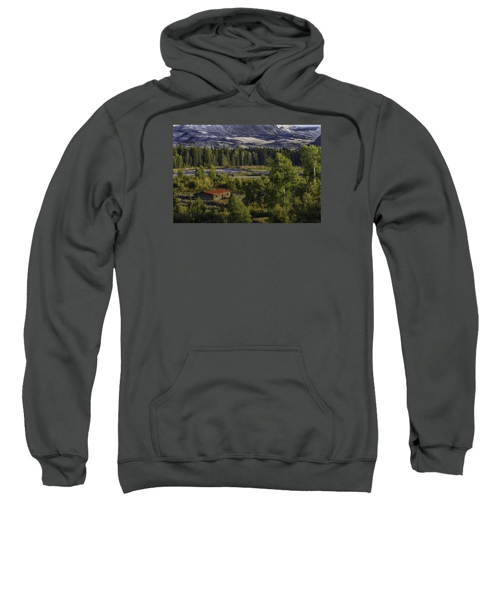 Mountains Sweatshirt featuring the photograph Peace In The Valley by Elizabeth Eldridge