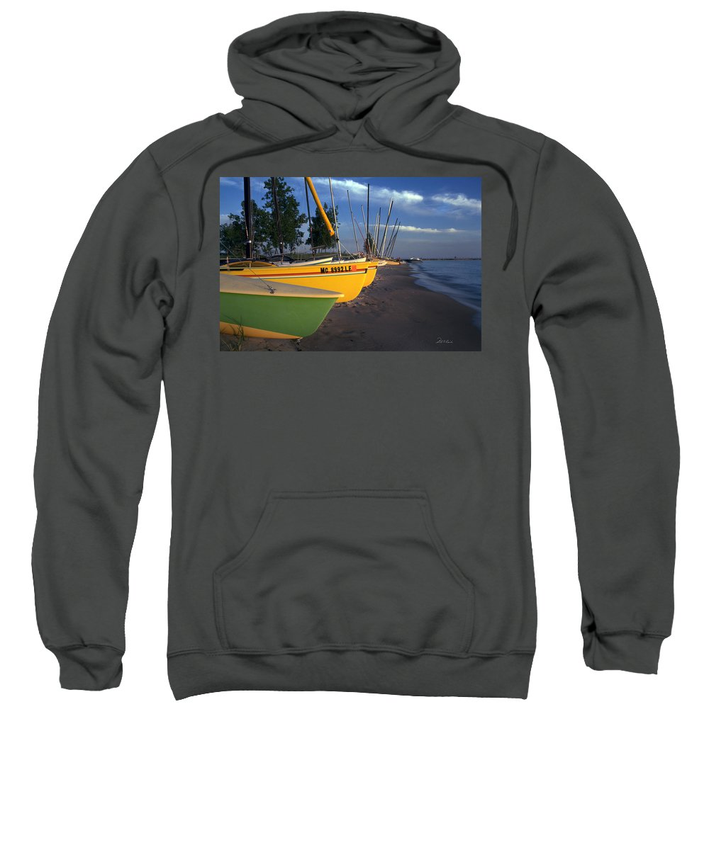 Photography Sweatshirt featuring the photograph Peaceful Evening by Frederic A Reinecke