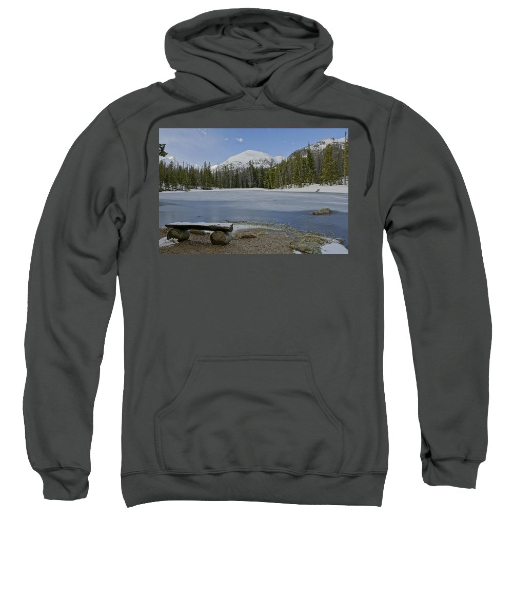 Horizontal Sweatshirt featuring the photograph Peaceful Rocky Mountain National Park by Brian Kamprath