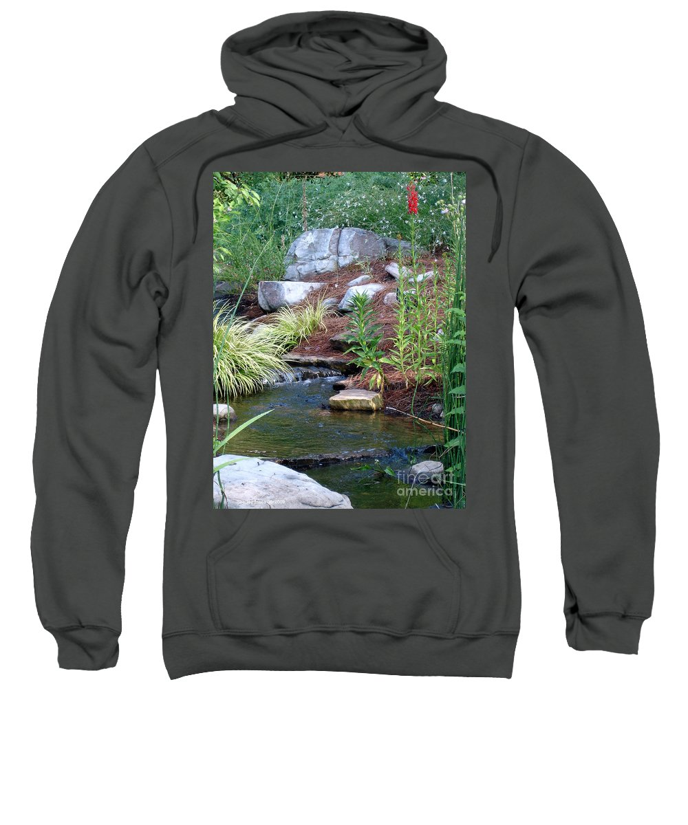 Landscape Sweatshirt featuring the photograph Peaceful by Shelley Jones